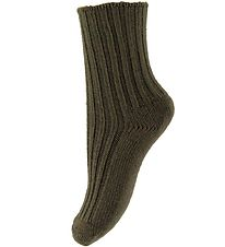 Joha Socks - Wool - Dark Green