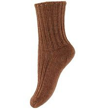 Joha Socks - Wool - Brown