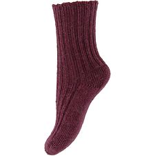 Joha Socks - Wool - Purple