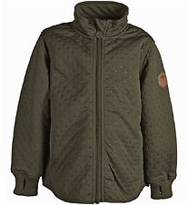 Mikk-Line Thermo Jacket - Black Olive