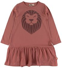 DYR Dress - Birdy - Dark Rose w. Lion