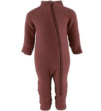 Mikk-Line Pramsuit - Wool - Madder Brown