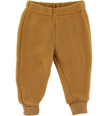 Mikk-Line Trousers - Wool - Golden Brown