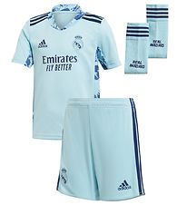 adidas Performance Goal Keeper Set - Real Madrid - Light Blue