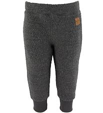 Mikk-Line Trousers - Wool - Grey