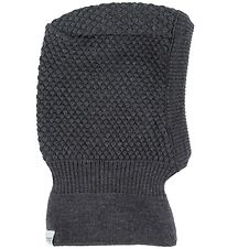 MP Balaclava - Double Layer - Wool/Cotton - Charcoal