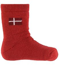 MP Socks - Red w. Danish Flag