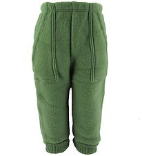 Joha Trousers - Wool - Green