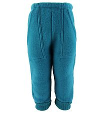 Joha Trousers - Wool - Blue