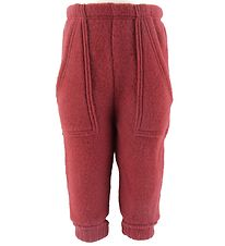 Joha Trousers - Wool - Red