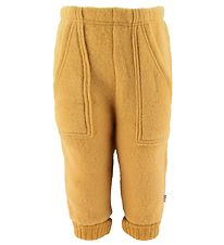 Joha Trousers - Wool - Yellow