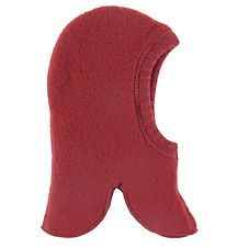 Joha Balaclava - Wool - Double Layer - Red