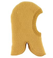 Joha Balaclava - Wool - Double Layer - Yellow
