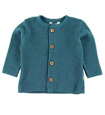 Joha Cardigan - Wool - Petroleum