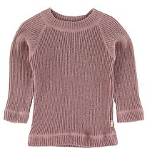 Joha Long Sleeve Top - Wool - Dusty Purple