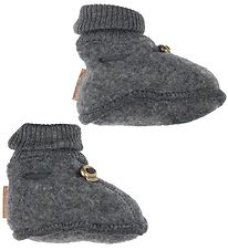 Mikk-Line Booties - Wool - Grey