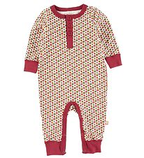 Katvig Jumpsuit - Red w. Apples