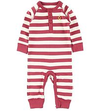 Katvig Jumpsuit - Red w. Stripes