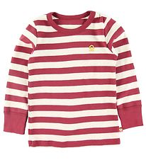 Katvig Long Sleeve Top - Red w. Stripes