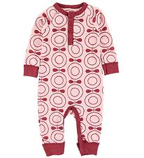 Katvig Jumpsuit - Wool - Rose w. Apples