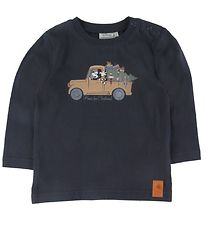 Wheat Disney Long Sleeve Top - Home For Christmas - Midnight Blu