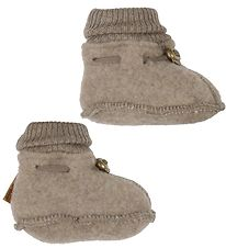 Mikk-Line Booties - Wool - Melange Denver