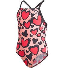 adidas Performance Swimsuit - Rose w. Hearts
