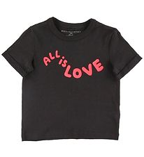 Stella McCartney Kids T-shirt - All Is Love - Black