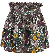 Minymo Skirt - Multicolored w. Flowers