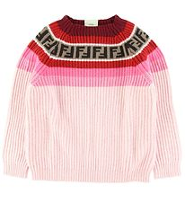 Fendi Knitted Blouse - Wool/Cashmere - Rose