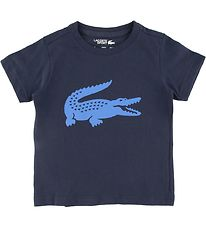 Lacoste T-shirt - Navy w. Crocodile