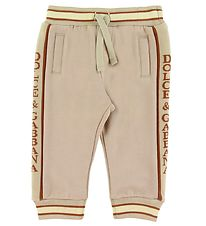 Dolce & Gabbana Sweatpants - Country - Sand