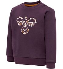 Hummel Sweatshirt - HMLLime - Purple