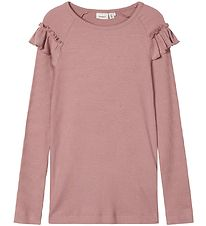 Name It Long Sleeve Top - Noos - NkfKabex - Woodrose