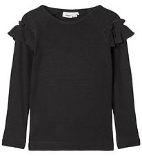 Name It Long Sleeve Top - Noos - NmfKabex - Black