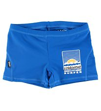 Molo Swim Pants - Norton Solid - Snorkle Blue