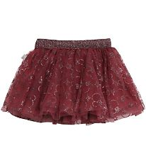 Wheat Disney Tulle Skirt - X-Mas Mickey - Mickey Burgundy