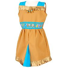 Souza Costume - Native American - Lusya - Brown/Blue