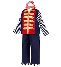 Souza Costume - Hendrick Pirate - Red/Navy