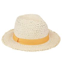 Molo Straw Hat - Straw w. Yellow Ribbon