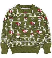 Jule-Sweaters Jumper - The Stylish Christmas Sweater - Green
