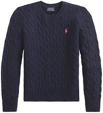 Polo Ralph Lauren Blouse - Wool/Cashmere - Navy