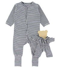 Hust and Claire X-Mas Nightsuit - Isa - Navy/White Striped