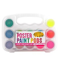 Ooly Colouring Set - 6 Glitter/6 Neon - Lil Poster