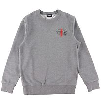 Diesel Sweatshirt - Willy - Grey Melange