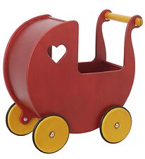 Moover Dolls Carriage - Red
