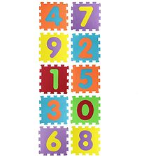 Ludi Foam Floor - 10 pcs - Numbers