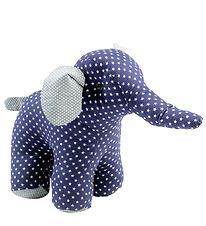 Smallstuff Soft Toy - Large - Elephant - Navy w. Stars