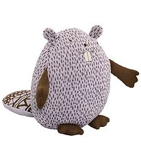 Bloomingville Soft Toy - Beaver - Lavender w. Dots