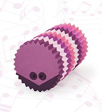 bObles Hedgehog w. Sound - Multi Pink